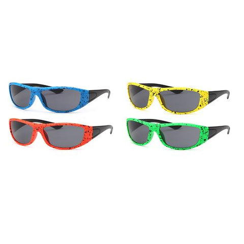 4-Pack - AFONiE Color Splash Kids Sunglasses