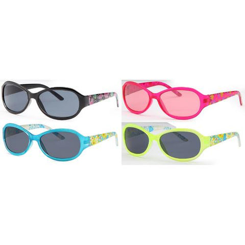 4-Pack - AFONiE Clear Color Kids Sunglasses