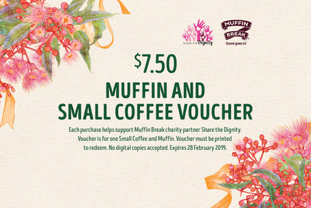 Muffin and Small Coffee Voucher