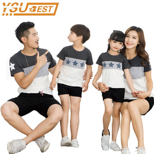2c1d2dcb Lovers Suit T Shirt Family Matching Outfits Mother Father Kids Girl Boys Shirts  Clothes Mom Dad Son Outfits Family Look Clothing