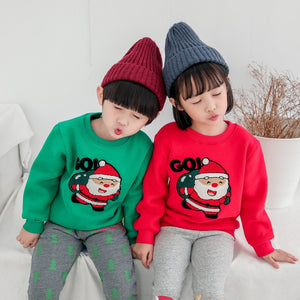 8683b484e9ba Family Look for Dad Mom and ME 2019 Father Mother Daughter Son Christmas  New Year Cotton Sweater Outfits Family Matching Clothes