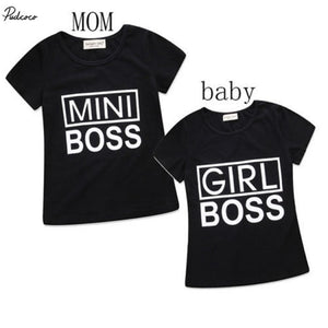 02aa2bc4c Couple Womens Mommy Baby Kids Girls shirt Tops Family Match Tee Shirt  Clothes
