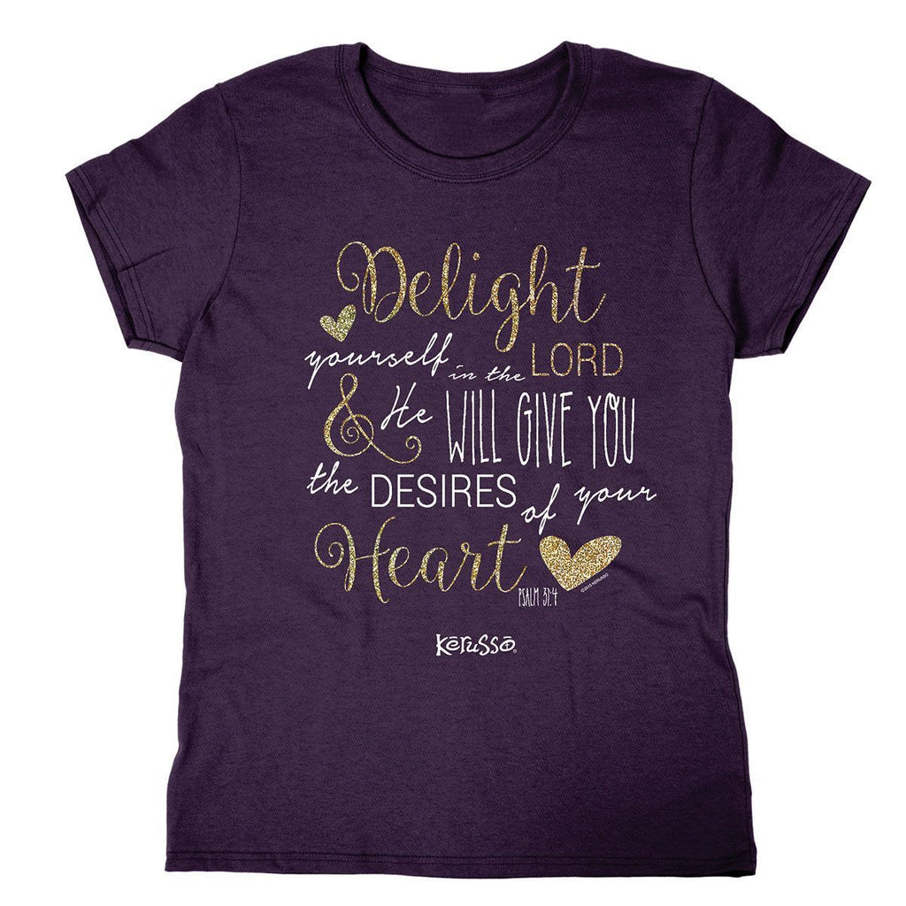 Delight in the Lord Missy Shirt
