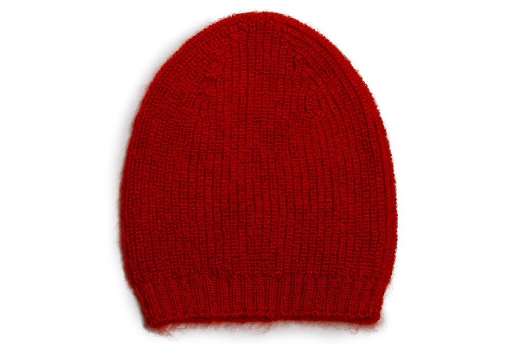 BLISS Beanie - Coral red