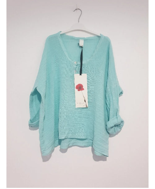 Slouchy Top Mint