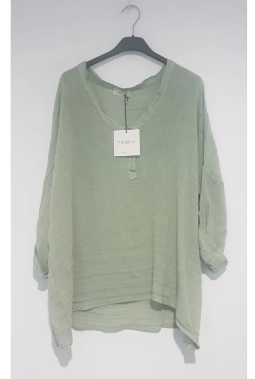 Slouchy Top , Apple