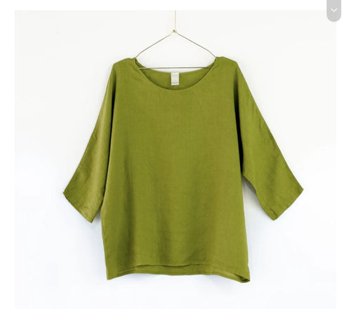 Aroha Top, acid green