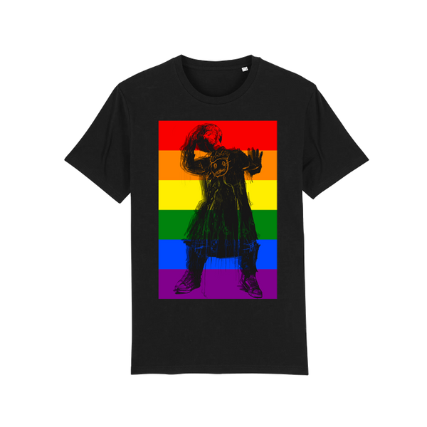 BOY GEORGE PRIDE BLACK T-SHIRT