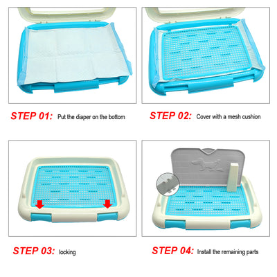 Indoor Dog Potty Cat Training Toilet Pad
