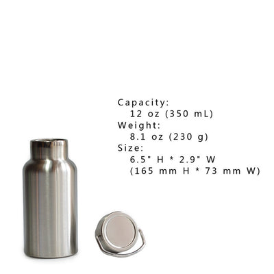 Full Stainless Steel Vacuum Insulated Water Bottle Tumbler