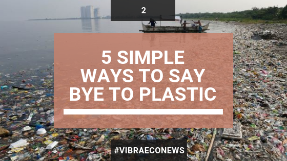 5 Simple Ways to Say Bye to Plastic