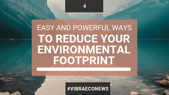 Easy and Powerful Ways to Reduce Your Environmental Footprint