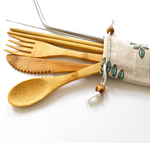 Bamboo Cutlery To - Go Set - Vibra Eco