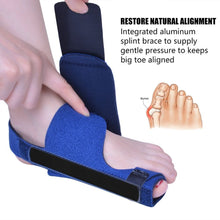 Load image into Gallery viewer, Bunion Corrector Bunion Splints and Big Toe Straighteners Separators Night Time Hallux Valgus Splints for Bunion Relief 2pcs