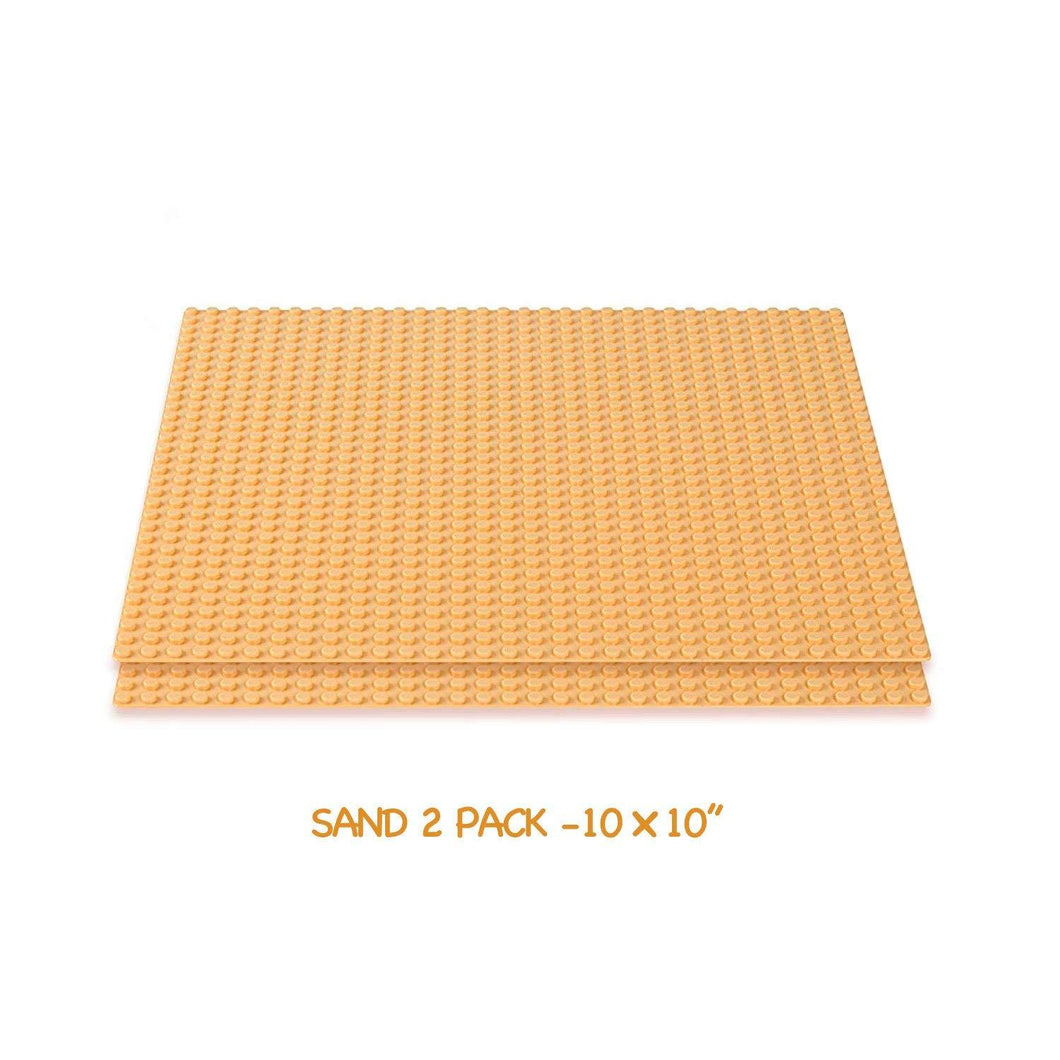 Brick Building Baseplates (2 pieces of 10