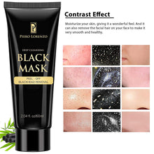 Load image into Gallery viewer, Blackhead Remover Black Mask Cleaner - Purifying Quality Black Peel off Charcoal Mask Best Facial Mask (2 Pack)