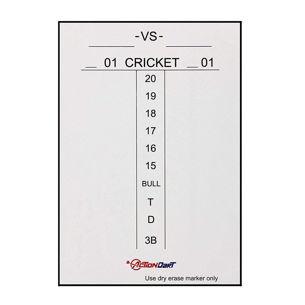 Magnetic Dry Erase Scoreboard - Cricket and 01 Dart Games -14