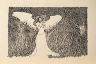 """Angel in a Forest"""