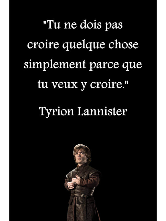 Poster Tyrion Lannister