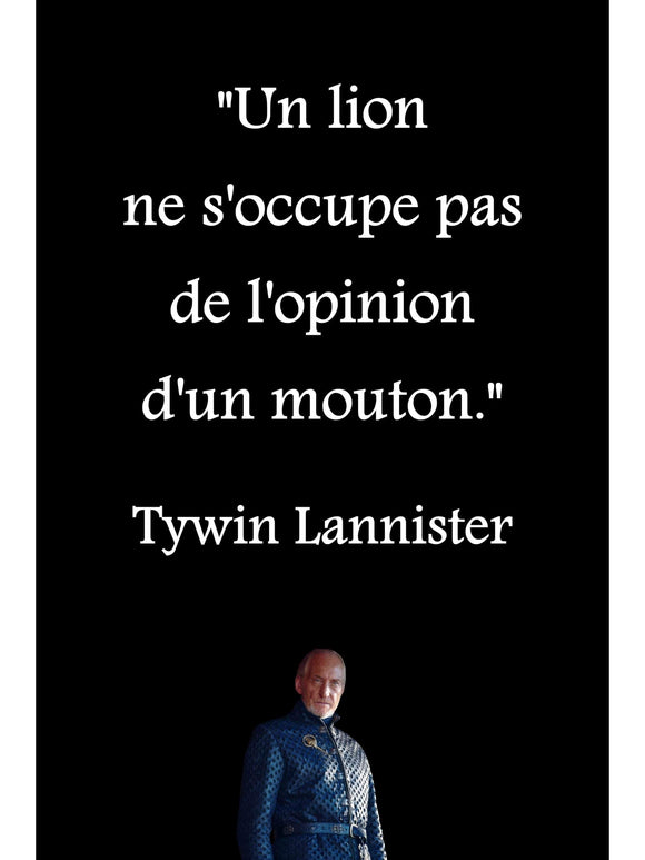 Poster Tywin Lannister