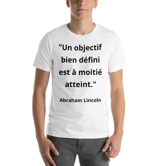 T-Shirt Homme Abraham Lincoln