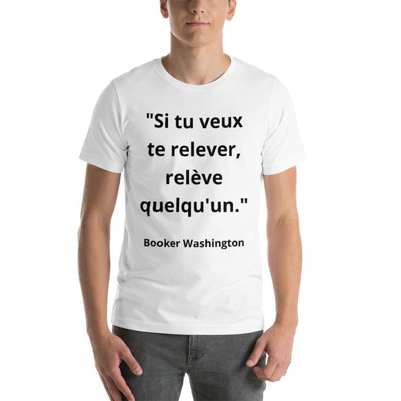 T-Shirt Homme Booker Washington