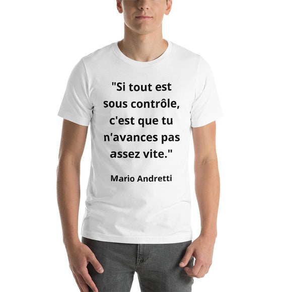 T-Shirt Homme Mario Andretti