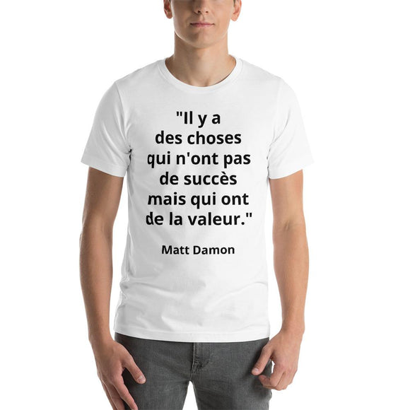 T-Shirt Homme Matt Damon