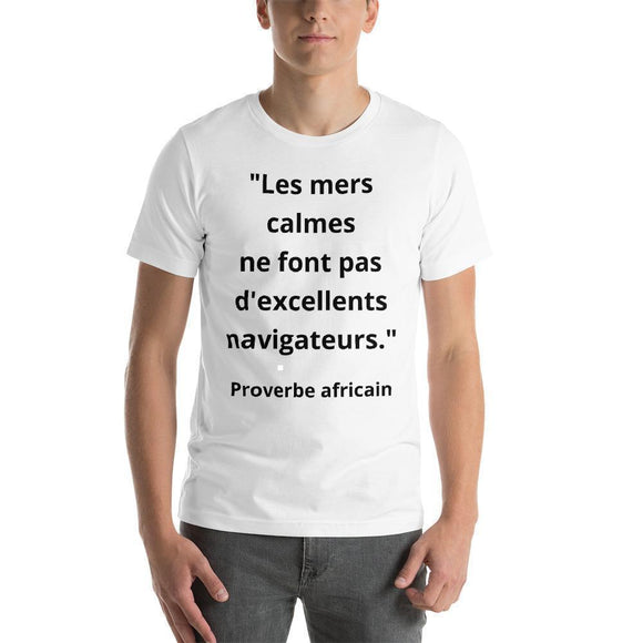 T-Shirt Homme Proverbe Africain