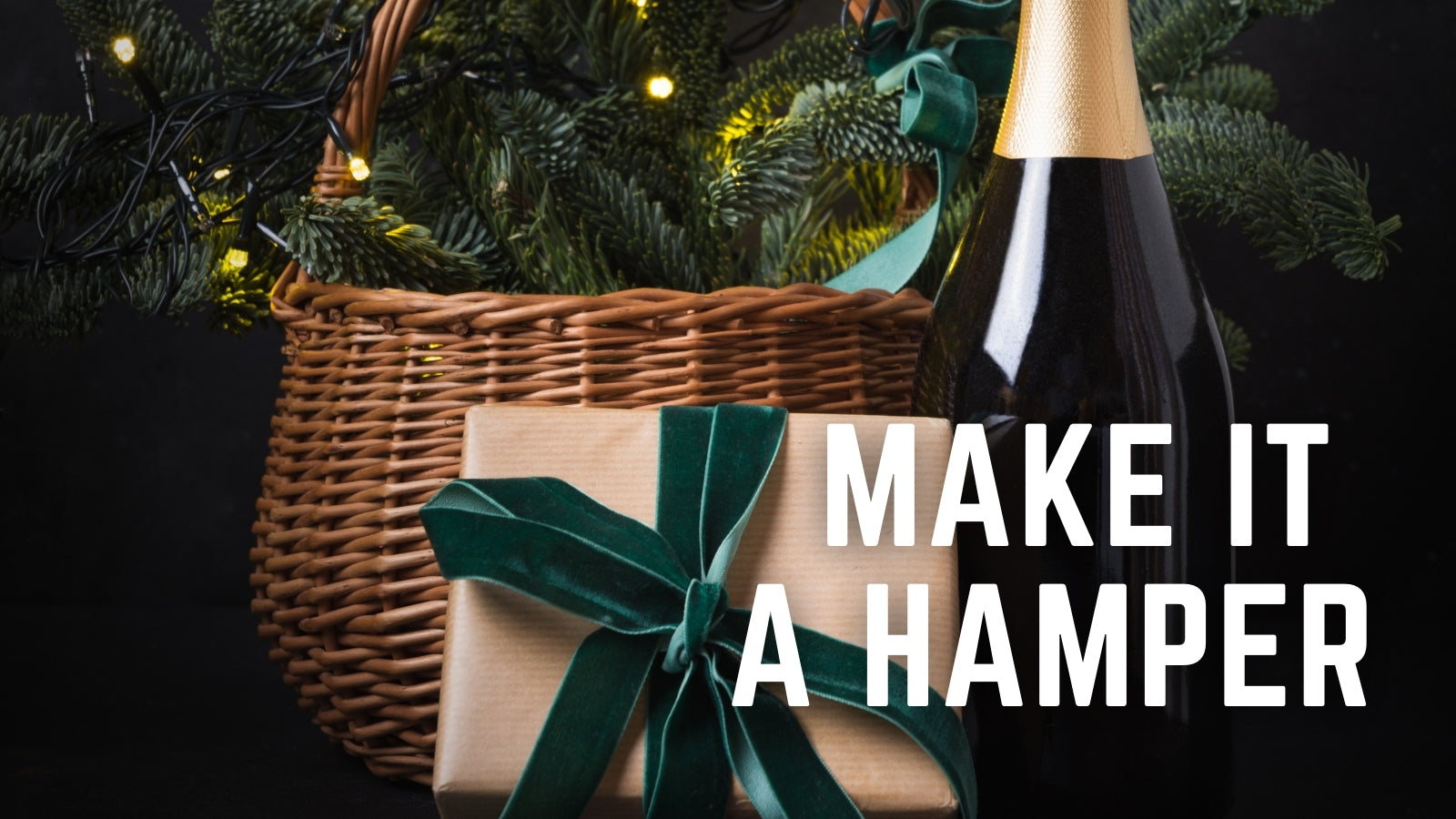 Make it a Hamper. Select gift options from our full store and we will build a hamper for you. Weirs of Baggot Street