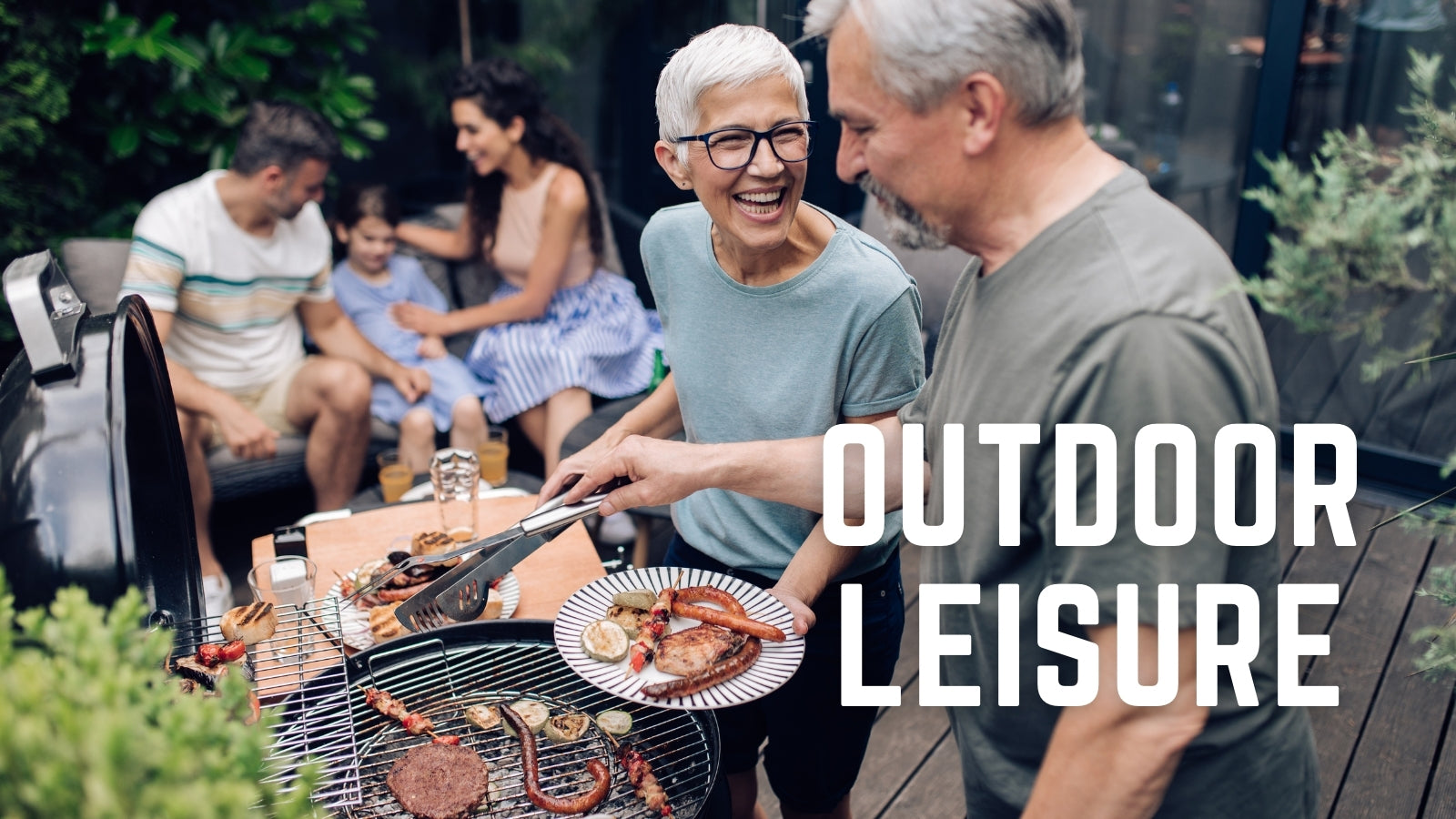 outdoor leisure collection. BBQ. Outdoor dining. Backyard DIY