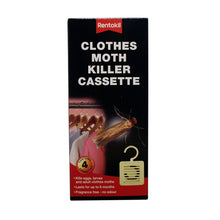 Load image into Gallery viewer, Rentokill Clothes Moth Killer Cassette 2Pk