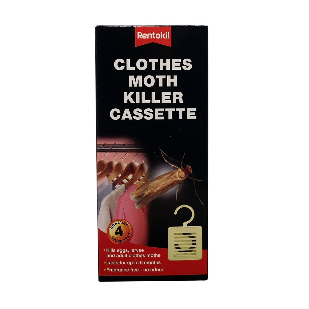 Rentokill Clothes Moth Killer Cassette 2Pk