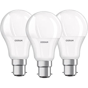 Osram LED GLS Light Bulb - 60W (B22d) - 3 Pack