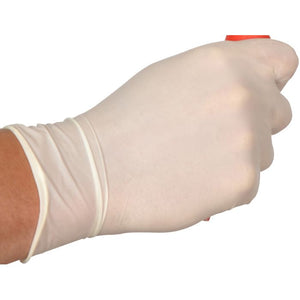 Supertouch Disposable Powder Free Latex Gloves Medium 100 Pack