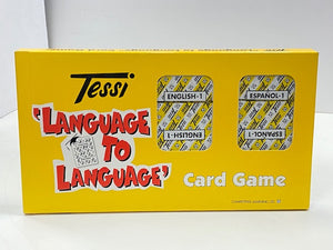 Language to Language English - Spanish Card game