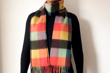 Load image into Gallery viewer, Classic Woollen Scarf - Multi Coloured