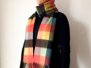 Classic Woollen Scarf - Multi Coloured