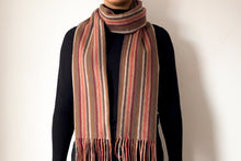 Load image into Gallery viewer, Classic Woollen Scarf - Stripes