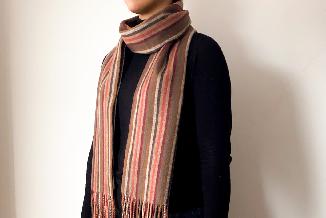 Classic Woollen Scarf - Stripes