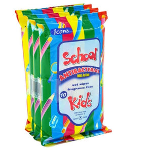 School Kids Antibacterial Wipes