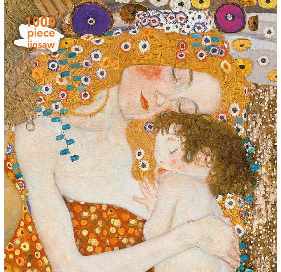 Jigsaw - 1000pc Klimt: Three ages of Woman