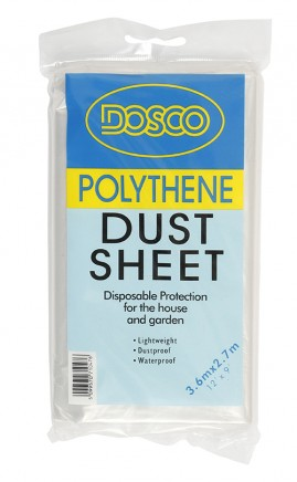 DOSCO Polythene Dust Sheet