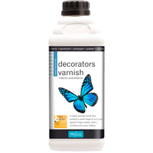 Load image into Gallery viewer, Polyvine Decorators Varnish - Dead Flat Clear Finish 500ml