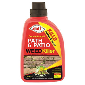 Doff - Concentrated Path & Patio Weed Killer 1L