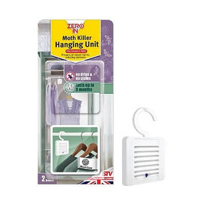 Zero In Moth Killer Hanging Unit 2pk