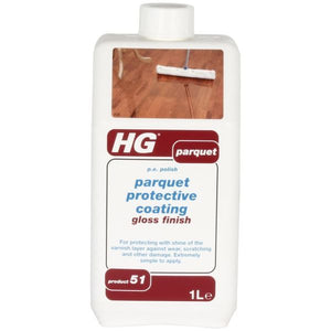 HG Parquet Protective Coating Gloss Finish 1 Litre