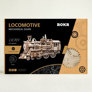 Robotime Mechanical Locomotive train kit