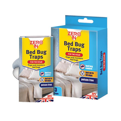 Zero In Bed Bug Traps 3pk