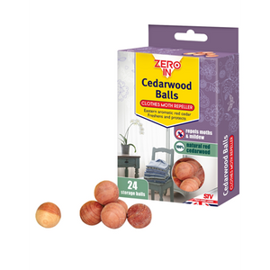 Zero in Cedarwood Clothes Moth Repeller 20 Balls
